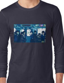 Rush Hour on the Tokyo Metro Long Sleeve T-Shirt