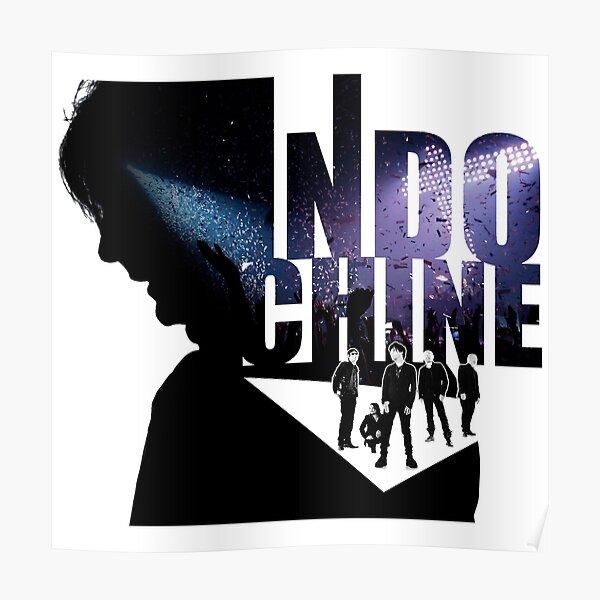 Meilleur design clair du logo du groupe chanteur pop rock de France Poster