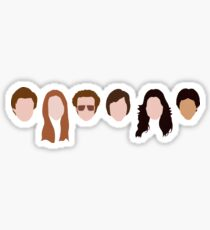 The Gang (That '70s Show) Sticker