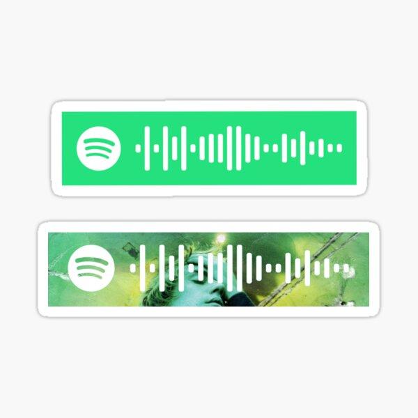 Justice JB Album Spotify Code Sticker Sticker