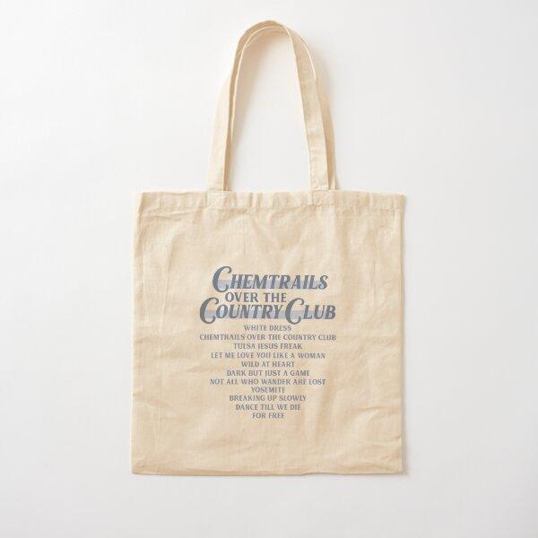 Liste de pistes Chemtrails Over The Country Club - Lana Del Rey Tote bag classique