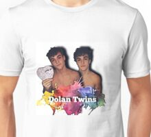 Dolan Twins- paint splat shirtless cartoon Unisex T-Shirt
