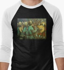 A Viking Skirmish Men's Baseball ¾ T-Shirt