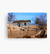 Hamlin Garland's House on the Prairie Canvas Print
