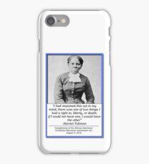 AACEA Inc. Tribute - Harriet Tubman  iPhone Case/Skin
