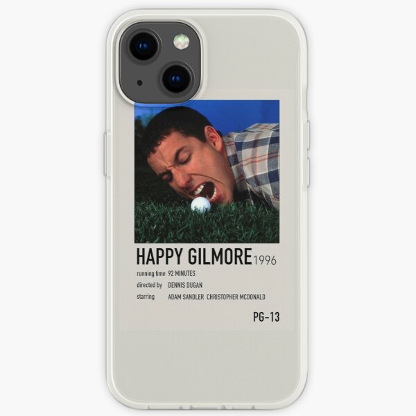happy gilmore movie poster iPhone Soft Case