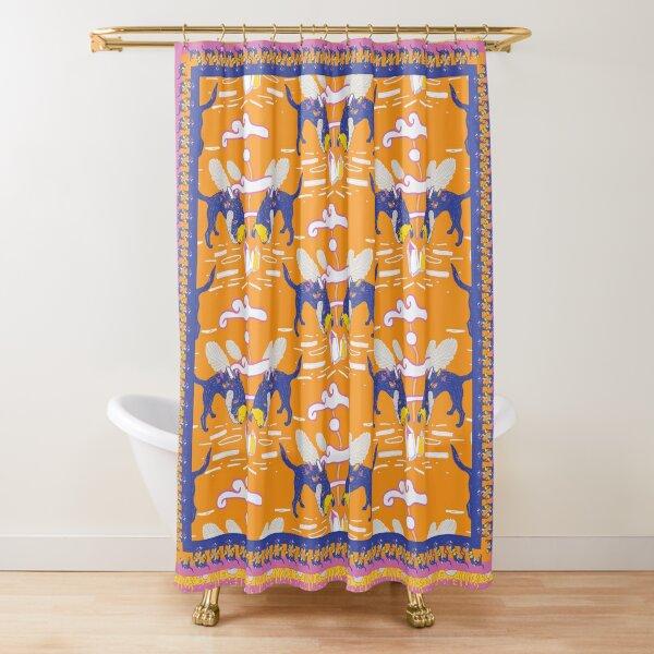 Rockhound pattern Shower Curtain