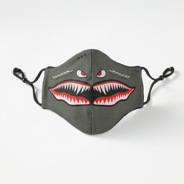 Curtiss P-40 Tiger Shark Mask (Realistic Version) Fitted 3-Layer