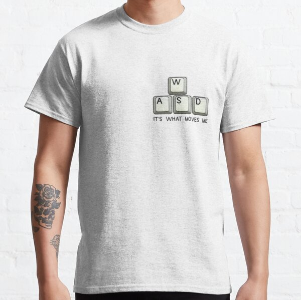For The PC Gamers - PC Gaming Sticker Classic T-Shirt