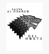 Salva al huargo del Norte Photographic Print