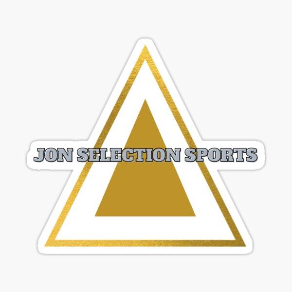 Jon Selection Sports Gold Triangle Brand Sticker