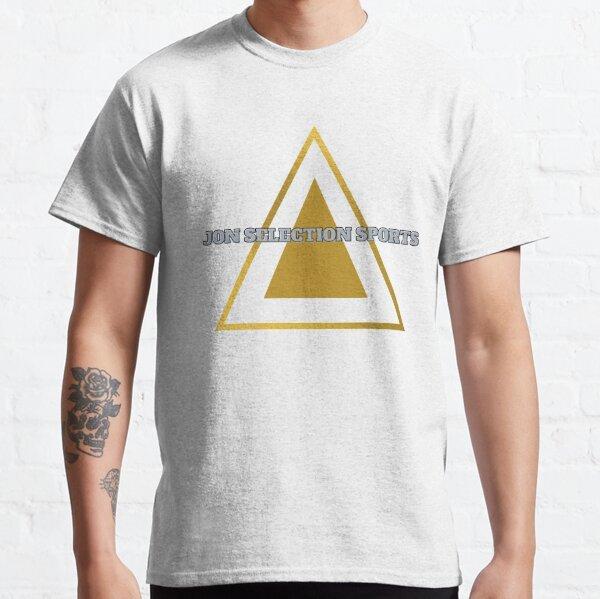 Jon Selection Sports Gold Triangle Brand Classic T-Shirt
