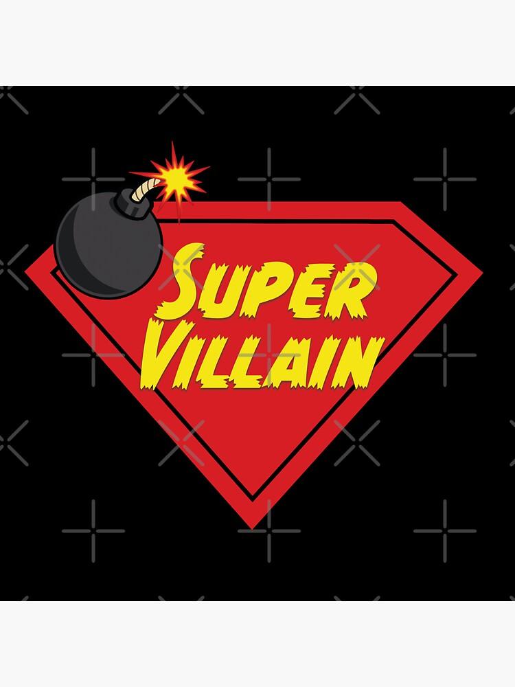 Super Villain Design on Black by Premise-Content