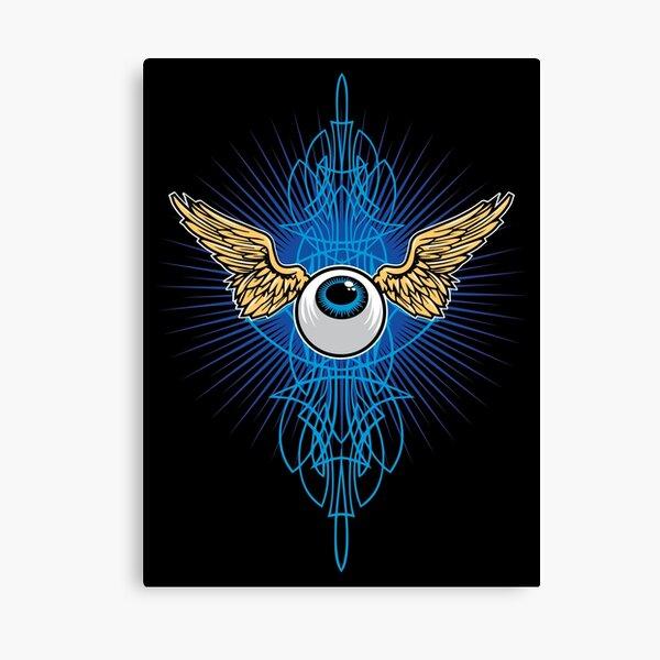 Flying Eye Canvas Print