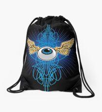 Flying Eye Drawstring Bag