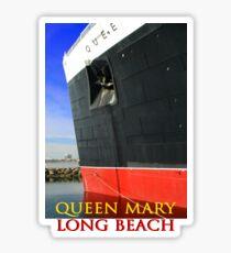 QUEEN MARY LONG BEACH (CARD) Sticker