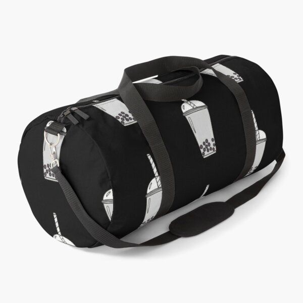 Sesame Bubble Tea Duffle Bag