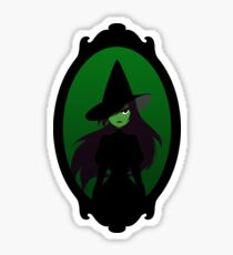 wicked witch Sticker