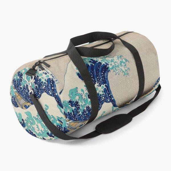 The Great Wave off Kanagawa by Katsushika Hokusai | Japanese Woodblock Print | Duffle Bag