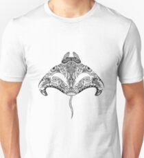 Tribal Manta Ray Unisex T-Shirt