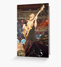 Lemmy Kilmister Motorhead Greeting Card