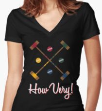 How Very! Women's Fitted V-Neck T-Shirt