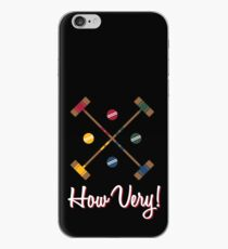How Very! iPhone Case