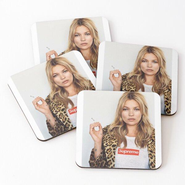 Kate Moss. Coasters (Set of 4)