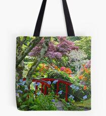 Butchart  Garden Tote Bag