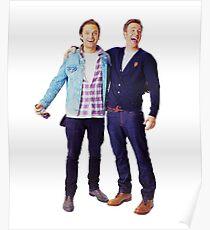 Chris Evans and Sebastian Stan Poster
