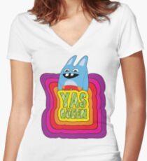I LOVE YOU BINGO BRONSON! Women's Fitted V-Neck T-Shirt