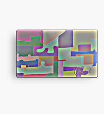 Blocks of Blocks Metal Print