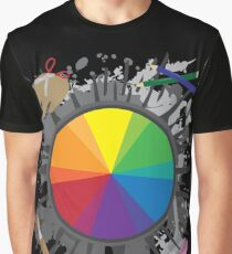 Artist Tools - Color Wheel Graphic T-Shirt