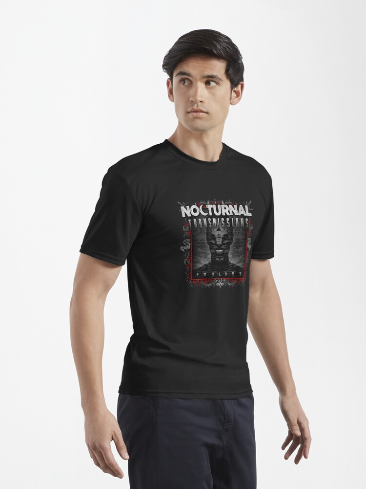 Alternate view of NOCTURNAL TRANSMISSIONS podcast artwork Active T-Shirt