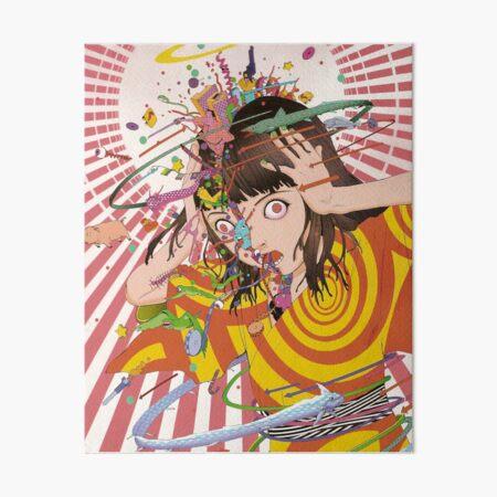 My Head is Full of F*ck Art Board Print