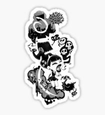 Protopunk Sticker