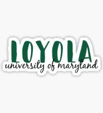 Loyola Sticker