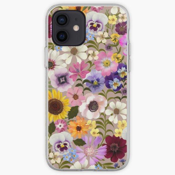 Spring Garden Party floral iPhone Soft Case