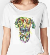 Great Dane Rose Women's Relaxed Fit T-Shirt