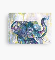 African Elephant Dancer  Canvas Print
