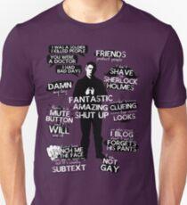 John Watson Quotes T-Shirt