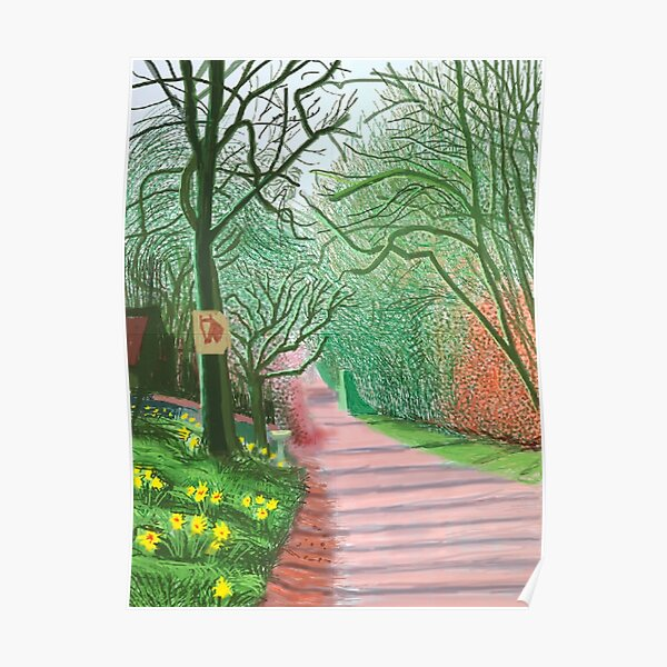 The Arrival of Spring in Woldgate Poster