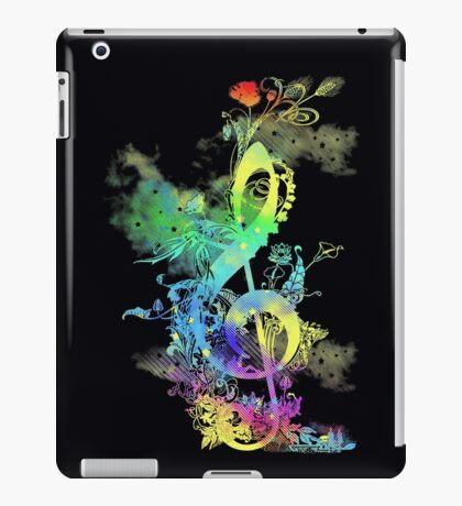 a key to hapiness iPad Case/Skin