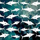 Sharks on Parade - Dark by ACImaging