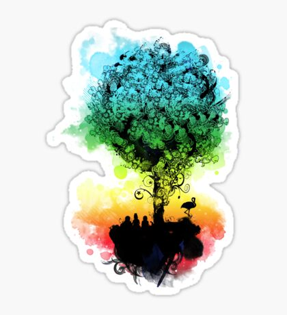 magical tree Sticker