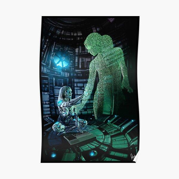 Cyberpunk Painting 073 Poster