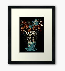 Tea House Framed Print