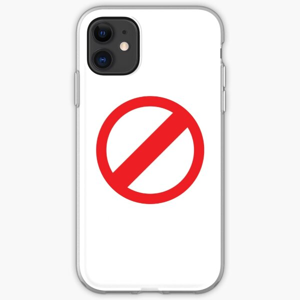 No Rules - White iPhone Soft Case