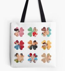 EXO Lucky One Clovers Tote Bag