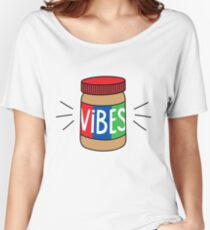 Peanut Butter Vibes Women's Relaxed Fit T-Shirt